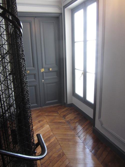 Rénovation de cage d\'escalier à Paris - Toulgoat Constructions