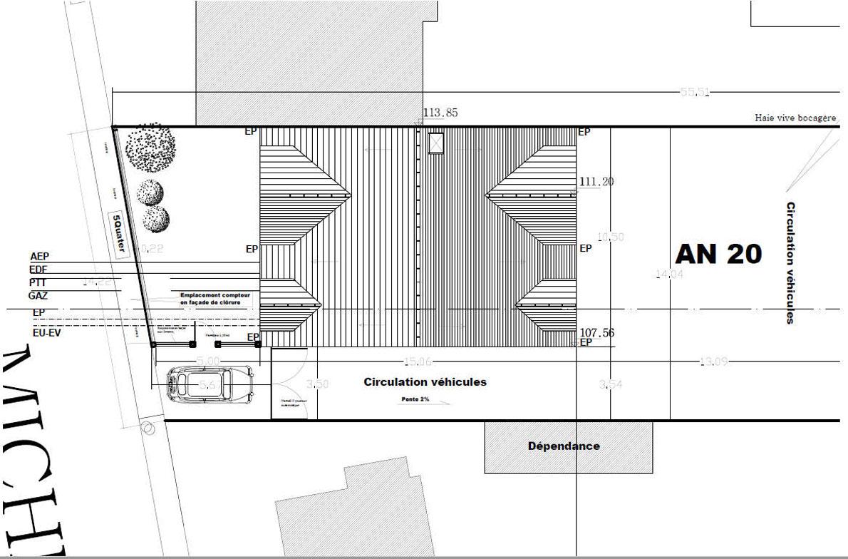 Construction Habitat Collectif 5 Logements Region