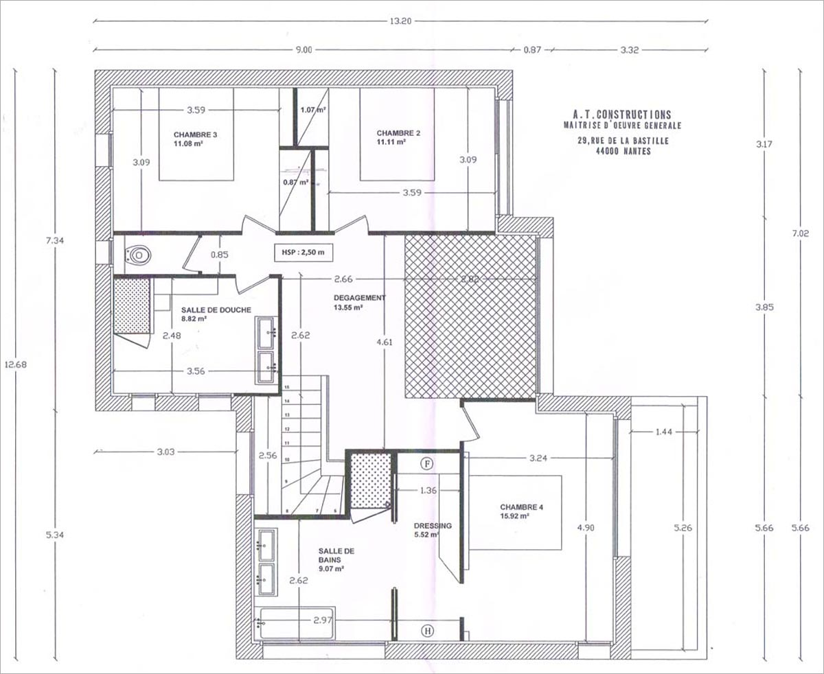 Plan de masse maison individuelle for Plans de maisons individuelles