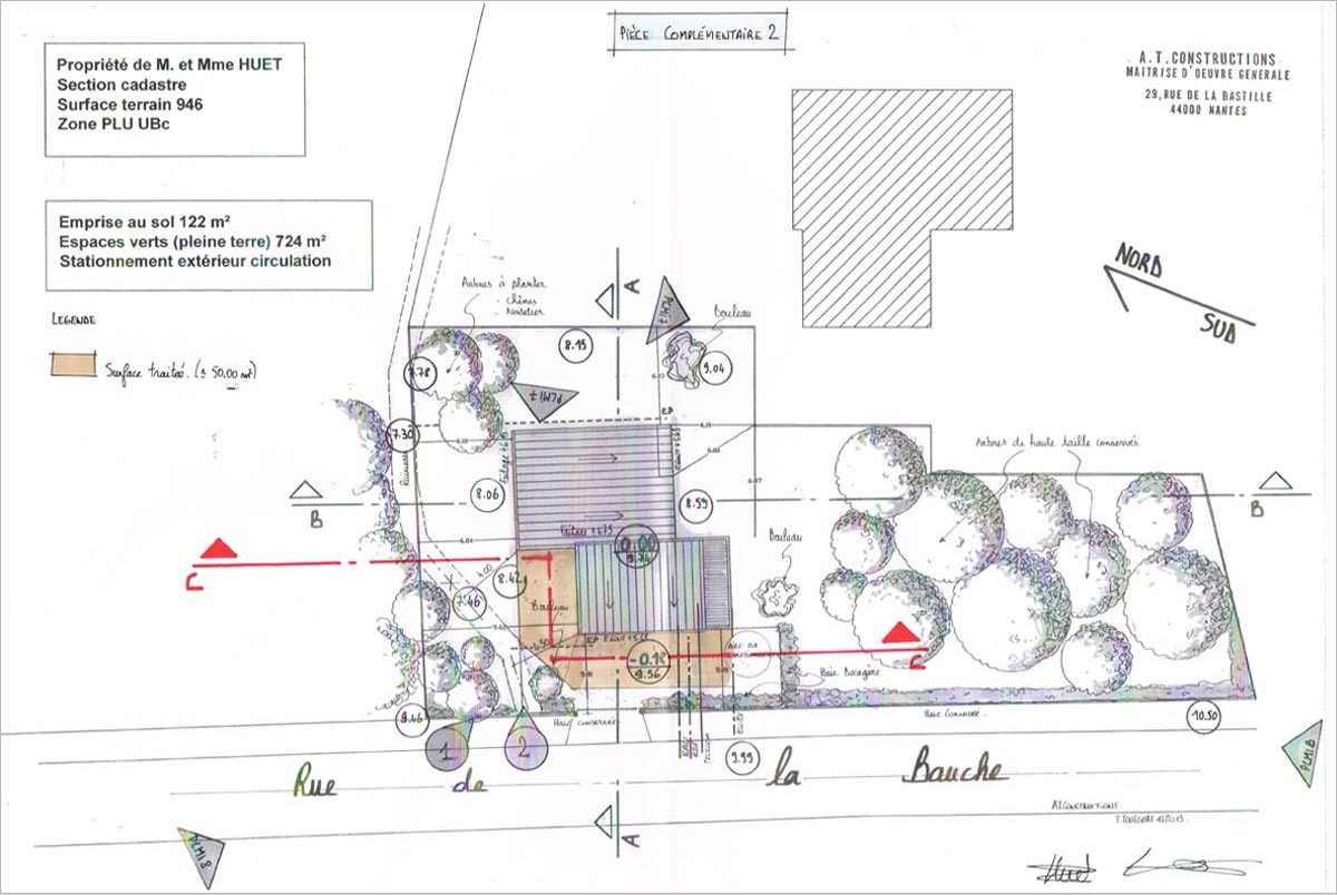 Construction maison individuelle nantes at constructions - Plan de masse maison individuelle ...