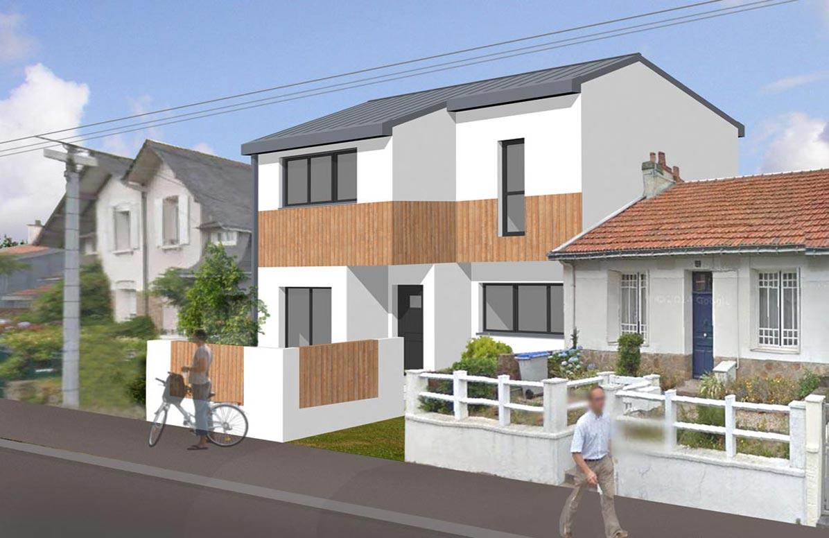 D molition et construction d 39 un maison individuelle for Projet construction maison individuelle